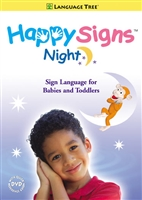 Happy Signs Night (Signs for Babies/Toddlers) DVD