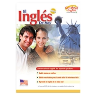 Get Ahead English (ESL) Today's English for Spanish Speakers DVD