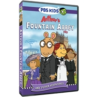 Arthur: Fountain Abbey DVD