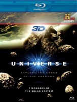 Universe: 7 Wonders of the Solar System Blu-Ray 3D
