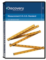The Language of Math: Measurement 3-5: U.S. Standard DVD
