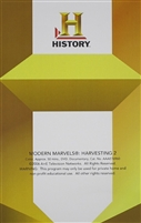 Modern Marvels: Harvesting 2 DVD
