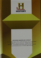 Modern Marvels: Wheat DVD