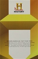 Modern Marvels: Fast food Tech DVD