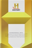 Modern Marvels: Metal DVD