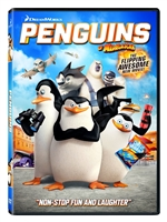 Penguins of Madagascar, The Movie DVD