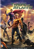 Justice League: Throne of Atlantis DVD