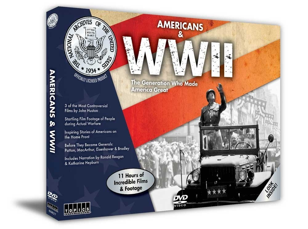 Americans & WWII (6-DVD) (#CE7564)