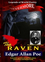 Legends of World Poetry: The Raven - Edgar Allan Poe DVD
