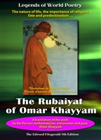Legends of World Poetry: The Rubaiyat of Omar Khayyam - Edward Fitzgerald DVD