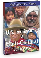 History of the United States: U.S. Immigrants: A Multi-Cultural Journey DVD