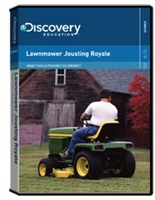 What Could Possibly Go Wrong? Lawnmower Jousting Royale DVD