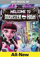 Monster High: Welcome to Monster High DVD