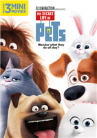 Secret Life of Pets DVD