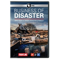 FRONTLINE: Business of Disaster DVD