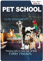 (US)Pet School, Season 1: Vol 1 (Ep. 1-5) (CE7848)