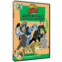 Wild Kratts: Adventures on the African Savannah (CE7993)