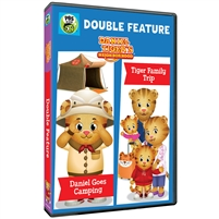 Daniel Tiger's Neighborhood Double Feature: Daniel Goes Camping & Tiger Family Trip (CE7994)