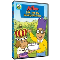 Arthur: DW and the Beastly Birthday (CE7997) DVD