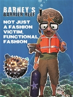 Barney's Barrier Reef Series: Not Just A Fashion Victim, Functional Fashion (CE8012)