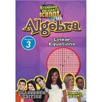 Standard Deviants School Algebra Module 3: Linear Equations DVD