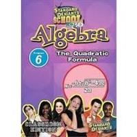 Standard Deviants School Algebra Module 6: The Quadratic Formula DVD