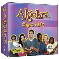 Standard Deviants School Algebra Super Pack DVD
