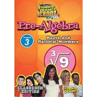 Standard Deviants School Pre-Algebra Module 3: Roots & Rational Numbers DVD