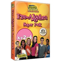 Standard Deviants School Pre-Algebra 7 Super Pack DVD