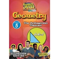Standard Deviants School Geometry Module 5: The Pythagorean Theorem DVD