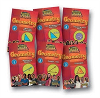 Standard Deviants School Geometry Super Pack (7 Pack) DVDs
