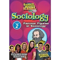 Standard Deviants School Sociology Module 2: Famous Figures In Sociology DVD