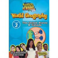 Standard Deviants School World Geography Module 3: The US And Canada DVD