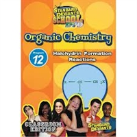 Standard Deviants School Organic Chemistry Module 12: Halohydrin Formation Reactions DVD