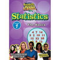 Standard Deviants School Statistics Module 1: The Basics DVD