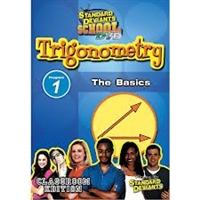 Standard Deviants School Trigonometry Module 1: The Basics DVD