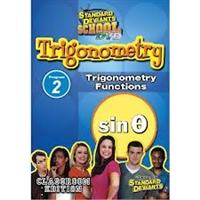 Standard Deviants School Trigonometry Module 2: Trigonometry Functions DVD