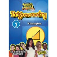 Standard Deviants School Trigonometry Module 3: Triangles DVD