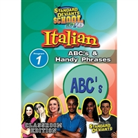 Standard Deviants School Italian Module 1: ABC's And Handy Phrases