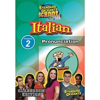 Standard Deviants School Italian Module 2: Pronunciation