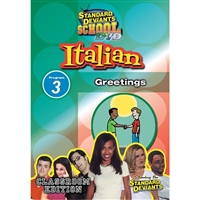 Standard Deviants School Italian Module 3: Greetings