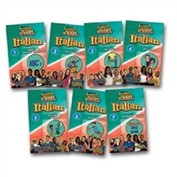 Standard Deviants School Italian 7 Pack