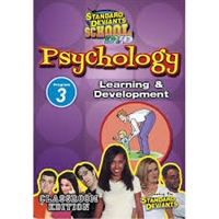 Standard Deviants School Psychology Module 3: Learning And Development DVD
