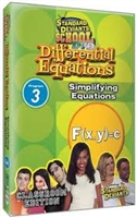 Standard Deviants School Differential Equations Module 3: Simplifying Equations DVD