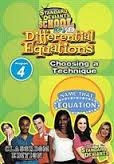 Standard Deviants School Differential Equations Module 4: Choosing A Technique DVD
