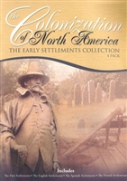 Just the Facts: Colonization of North America 4 Pack DVD