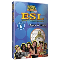 Standard Deviants School ESL Program 6: Days And Time