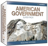 Teaching Systems American Government Super Pack DVD