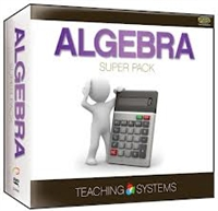 Teaching Systems Algebra Super Pack DVD