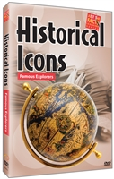 Historical Icons: Famous Explorers DVD